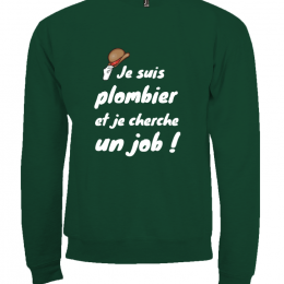 Sweat shirt mixte